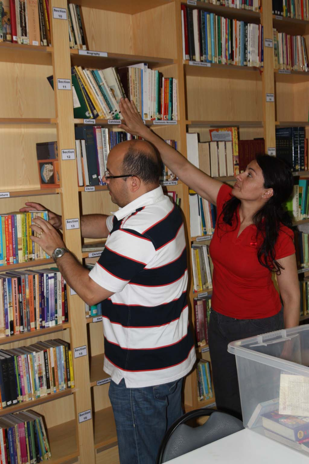 Young members are always encouraged to become active members of our library.